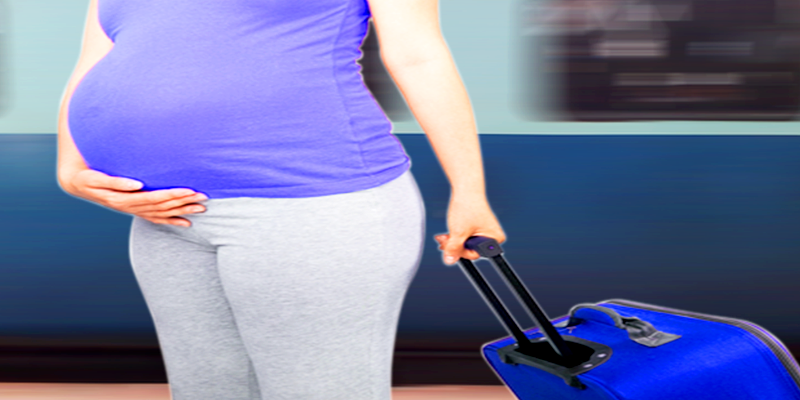 Train travel during pregnancy
