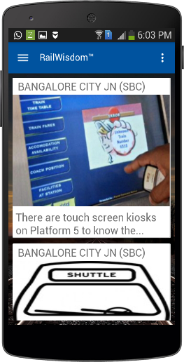 Rail Wisdom Screen 1