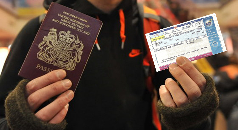 Rules for Foreign Nationals in Trains