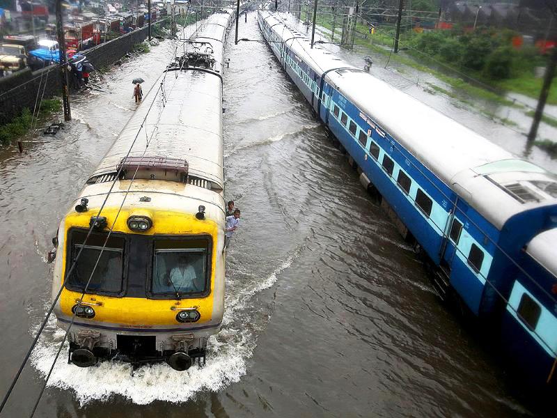 Train Delay due to Rain