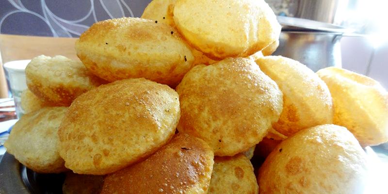 chhath Puja delicacies puri