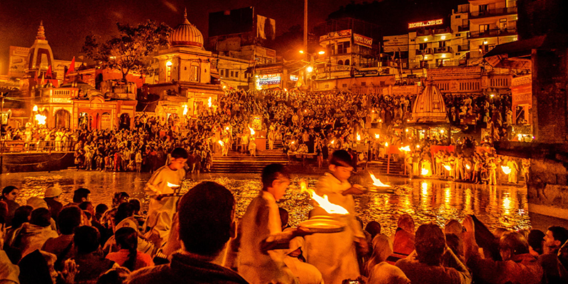 Maha Ganga Aarti - Varanasi