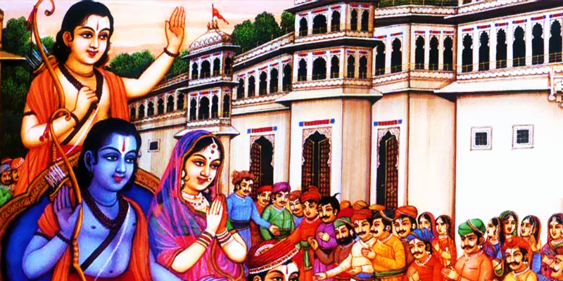 Lord Rama returns to Ayodhya