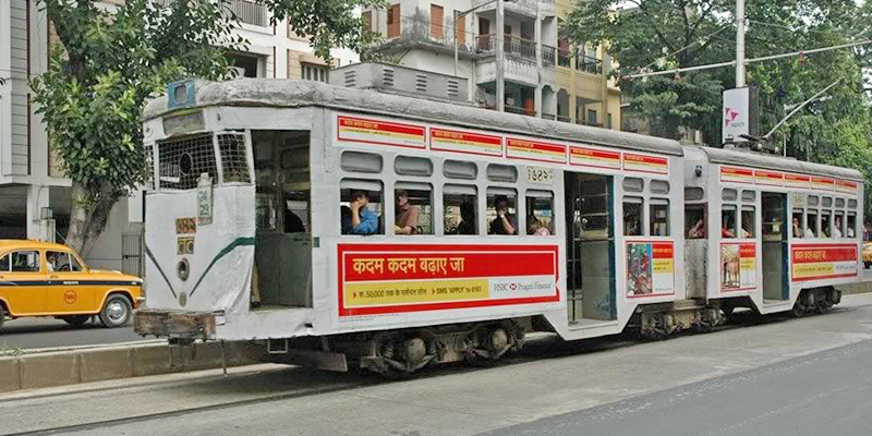 Trams-The old world charm of Kolkata