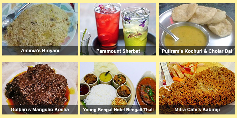 Eateries in Kolkata