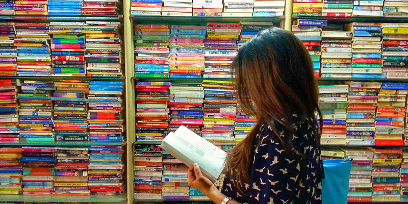 Kolkata Book Fair stalls