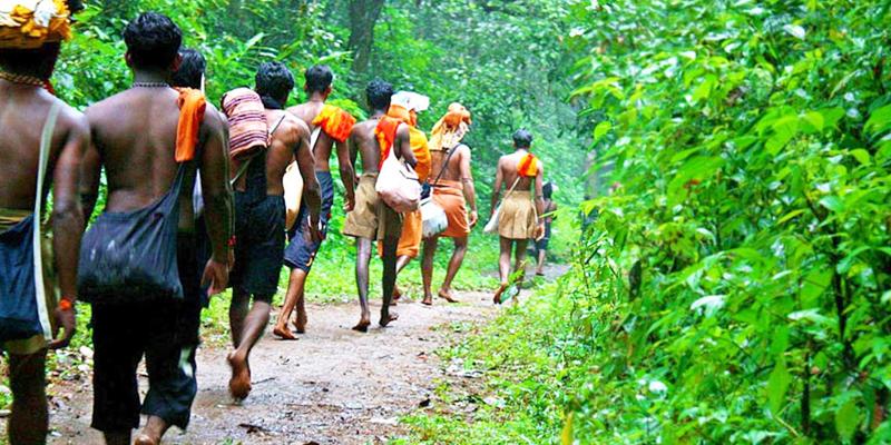 Sabarimala Pilgrimage route