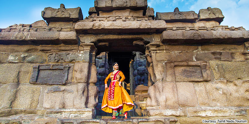 Mamallapuram Dance Fest - Shore Temple
