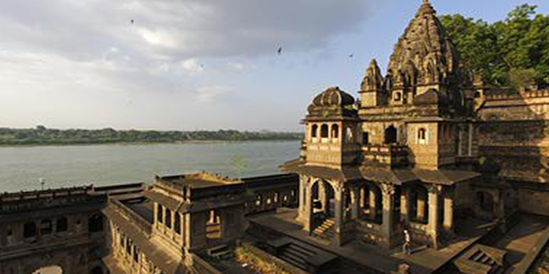 Temple in Maheshwar