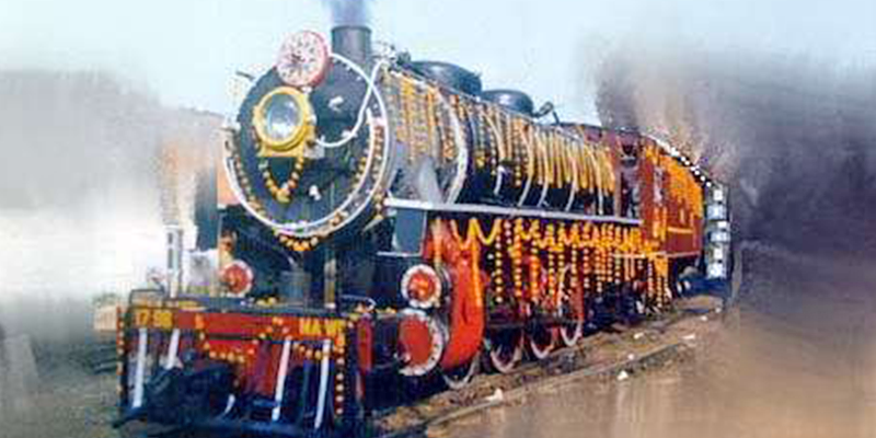 Trains of Difference in India