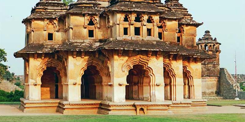 The Lotus Mahal - Hampu