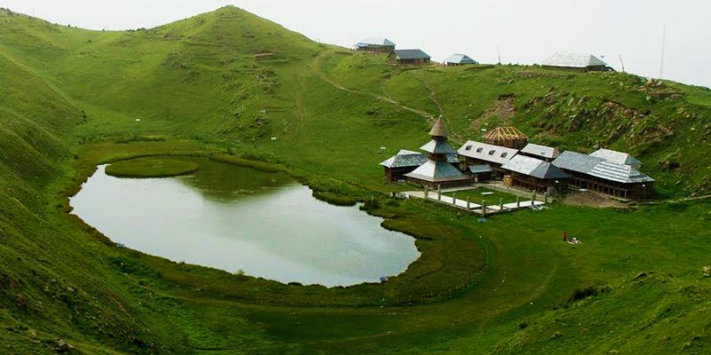Prashar Lake - Mandi