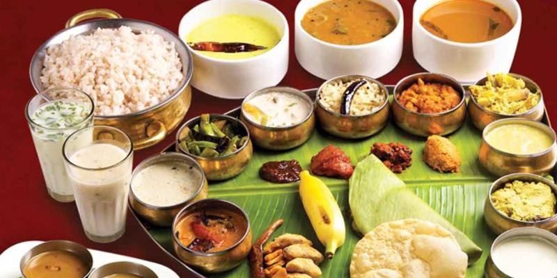 hindu food and clothing food