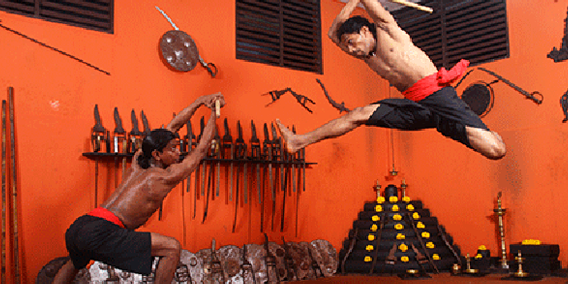 Kalaripayattu Training