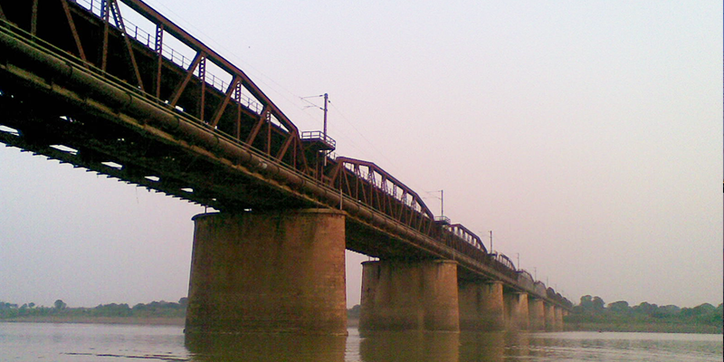 Old Naini Bridge, Allahabad