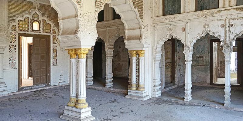 Sheesh Mahal - Taj Mahal, Bhoppal