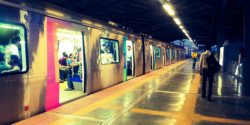 Mumbai Metro commuters