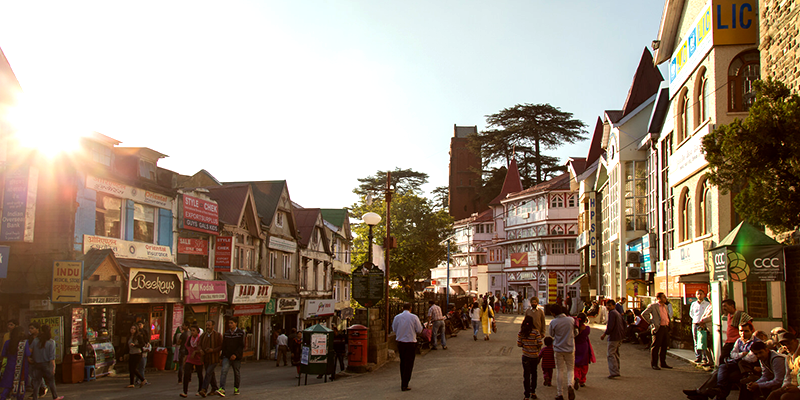 Shimla eateries