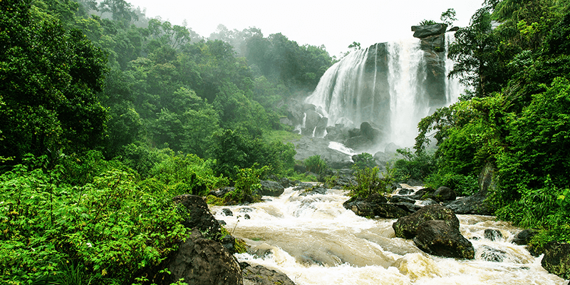 Kuthumkal Waterfalls photograph