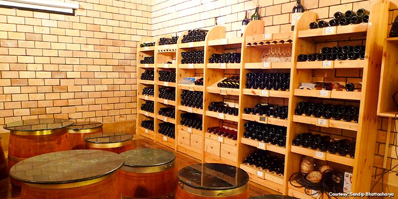 Wine tourism in Nandi Hills