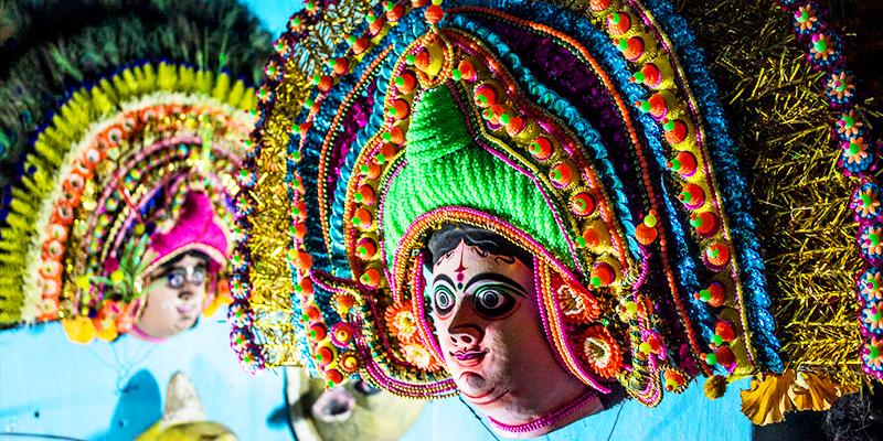 Chau Masks of Charida Village