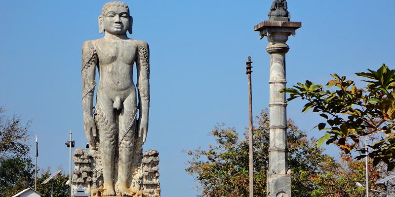 Shravanabelagola statue
