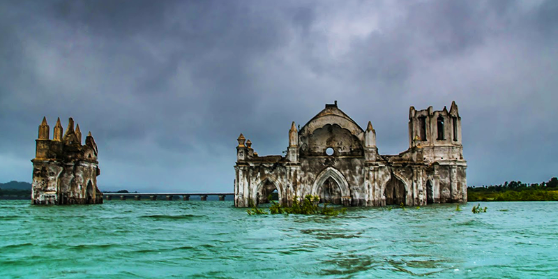 Submerged Shettihali Church