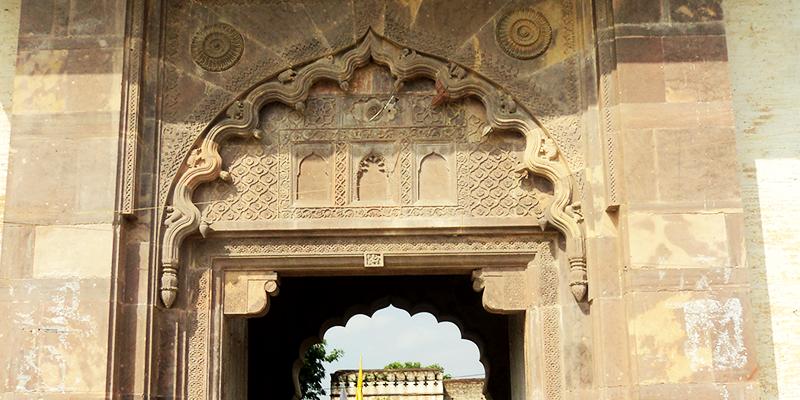 Malwa Temple Enterance