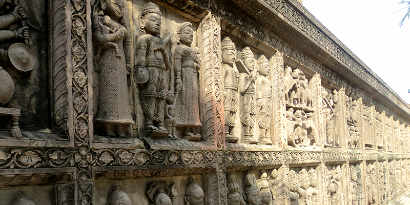 malwa temple desigee on window