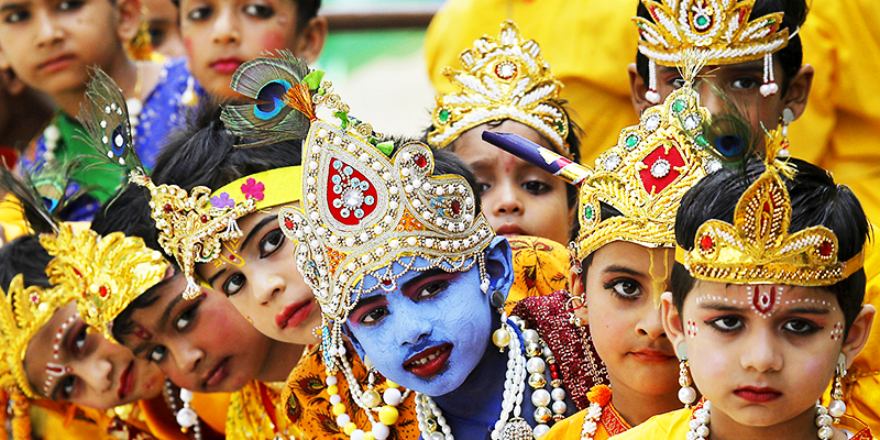 Narhard janamshtami-celebration