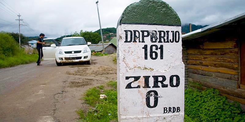 Ziro Valley Road
