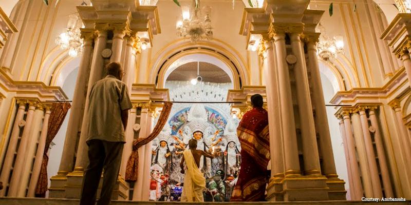Bonedi Durga Puja