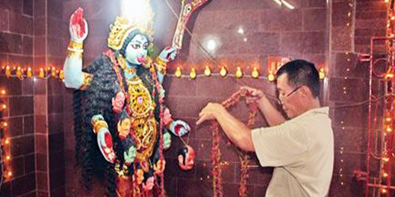 china kali temple
