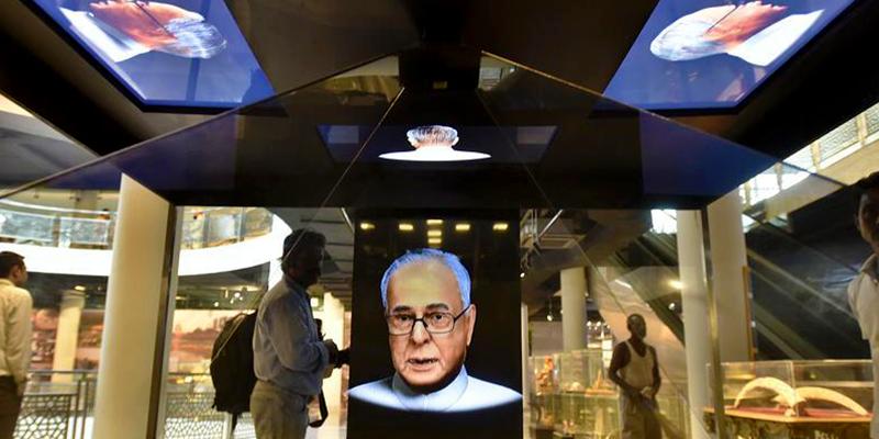Virtual Story telling - Virtualised President