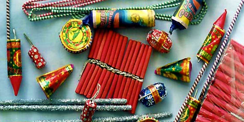 Chhath Puja crackers