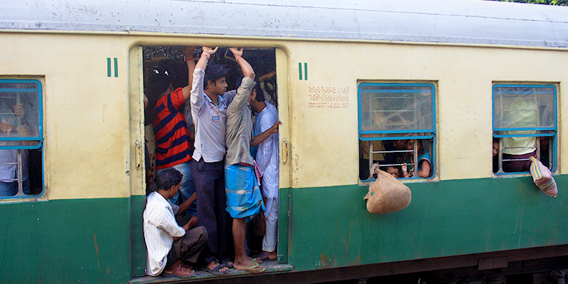 Katwa - Howrah local train