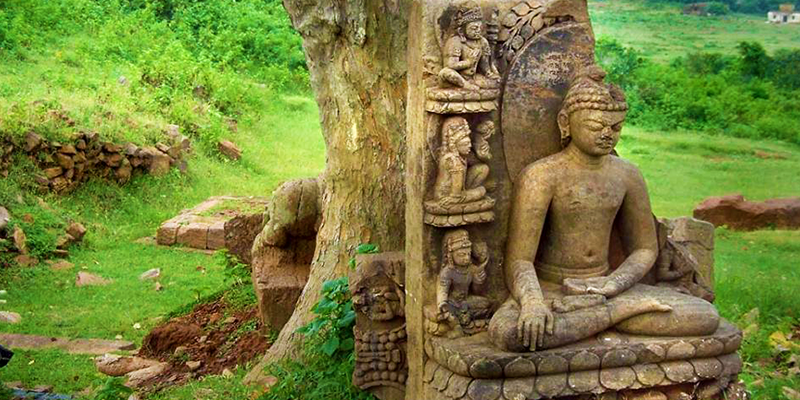Buddhist site in Odisha