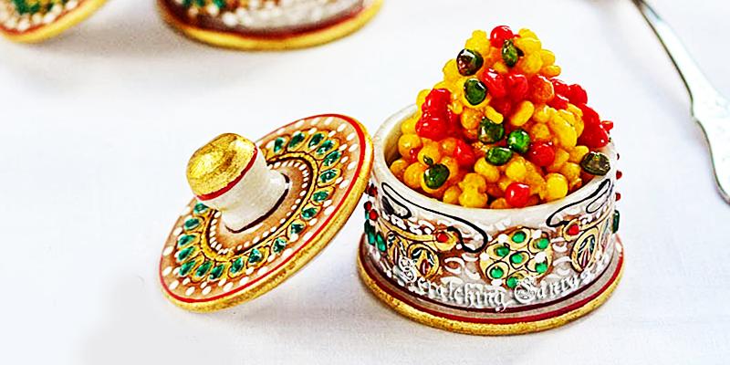 Diwali Food in Bihar - Boondiya