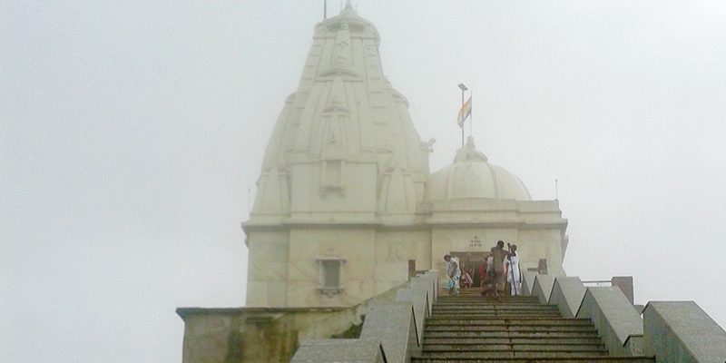 parasnath temple in hills