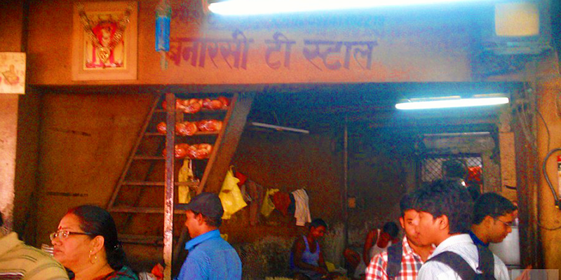 banarsi tea stall at kanpur
