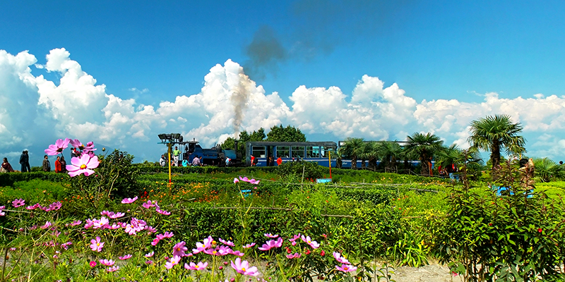 Ghum railway station