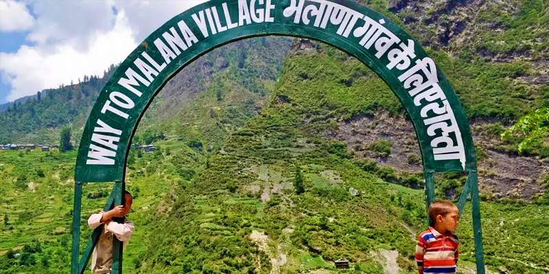 a unique village in India where greek live