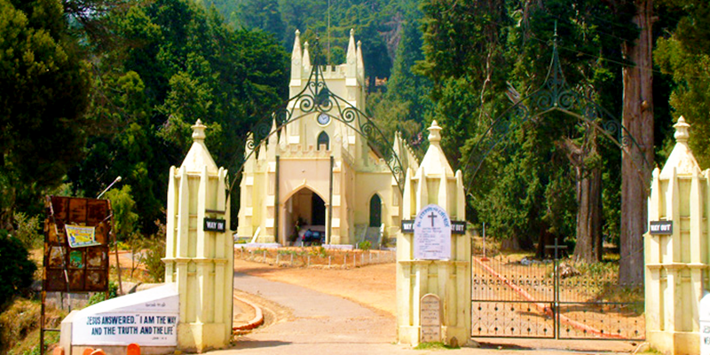 St. Stephen's Church , Ooty