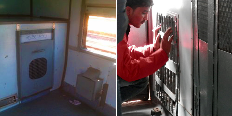 dog box facility in Indian Railways