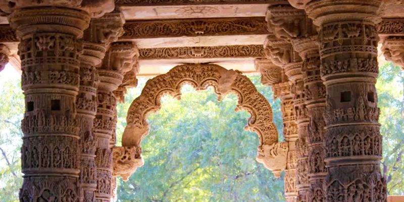Modhera Sun Temple Garbagruha