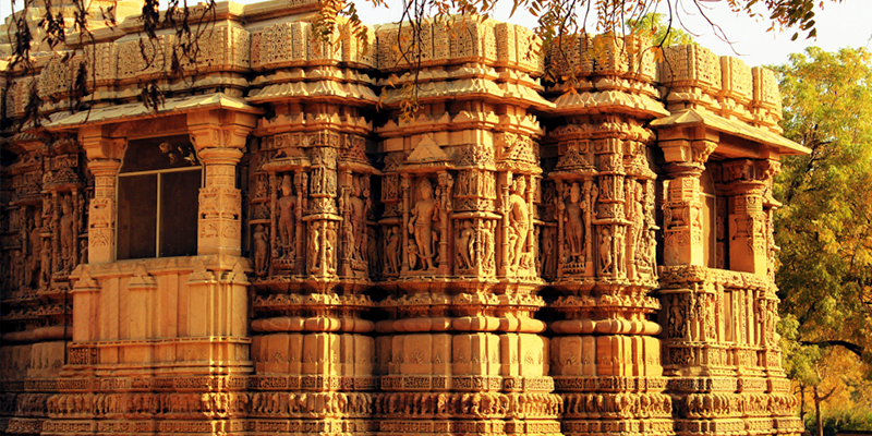 Modhera Sun temple Mandap