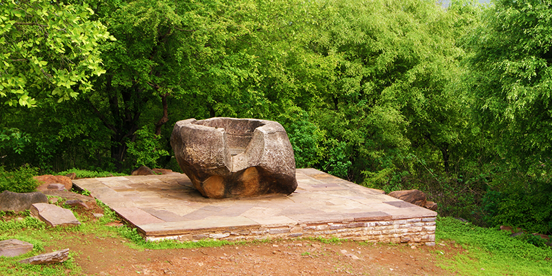 The Great Bowl near Sanchi
