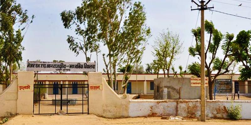 Dhanuri village of army people