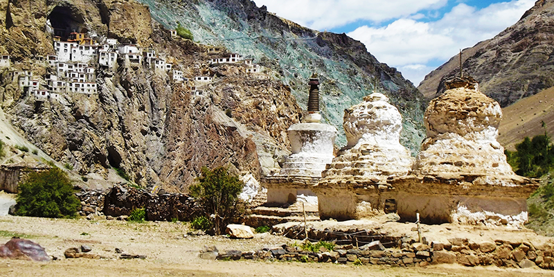 Zongkhul Monastery in Kargil