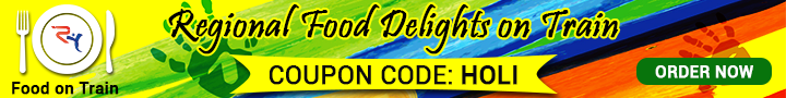 Holi Food Delicacies Banner